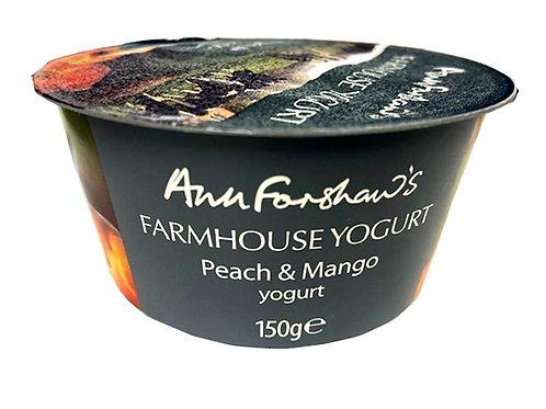 Ann Forshaw's Farmhouse Yogurt Peach & Mango 150g