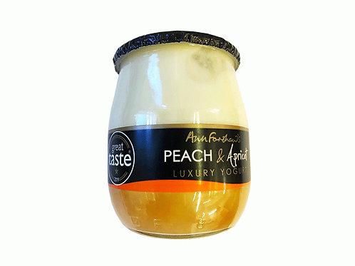 Ann Forshaw's Peach & Apricot Luxury Yogurt 140g