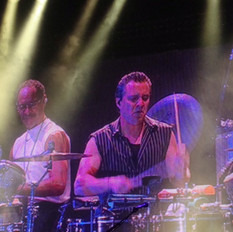With Karl Perazzo live Monte Carlo