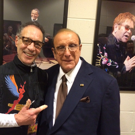 Me and Clive Davis Madison Square Garden