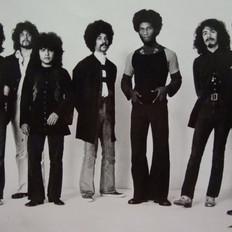 Original Santana Band poster