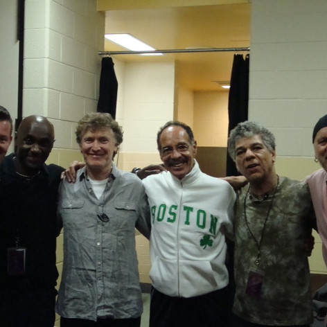 With Steve Winwood