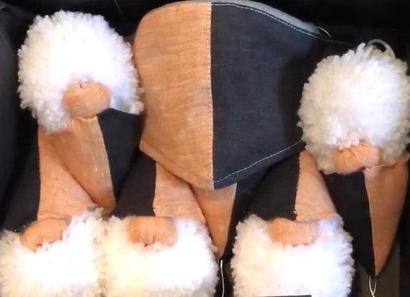 CONTAE Busca Mor- Linen Mask + Santa (6) Box