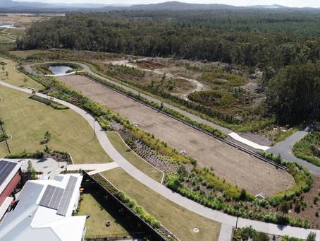 Aura Estate; WSUD Infrastructure