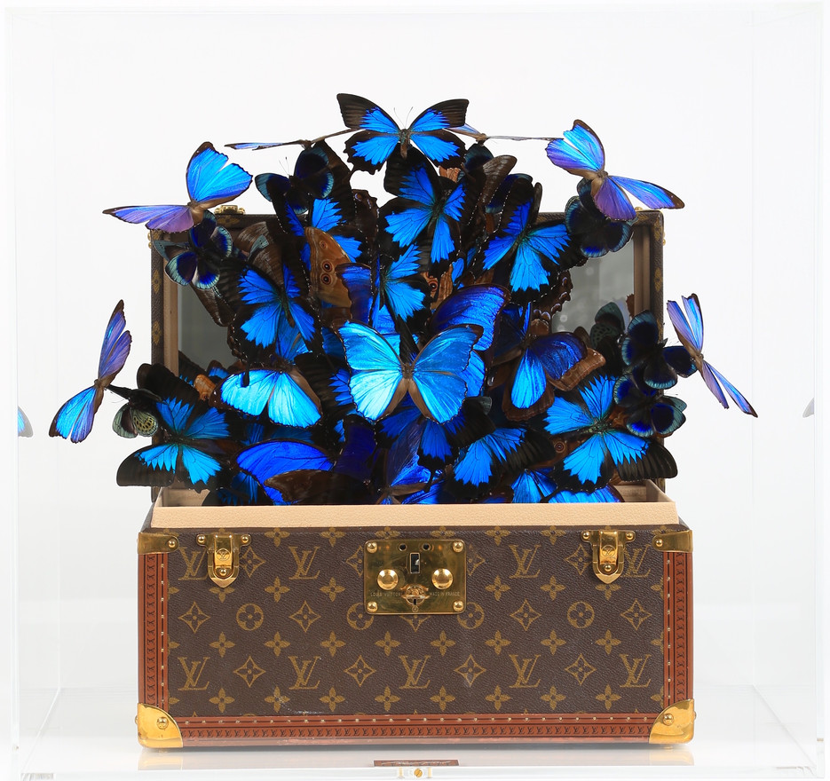 COFFRE LOUIS VUITTON AZUR, 2020