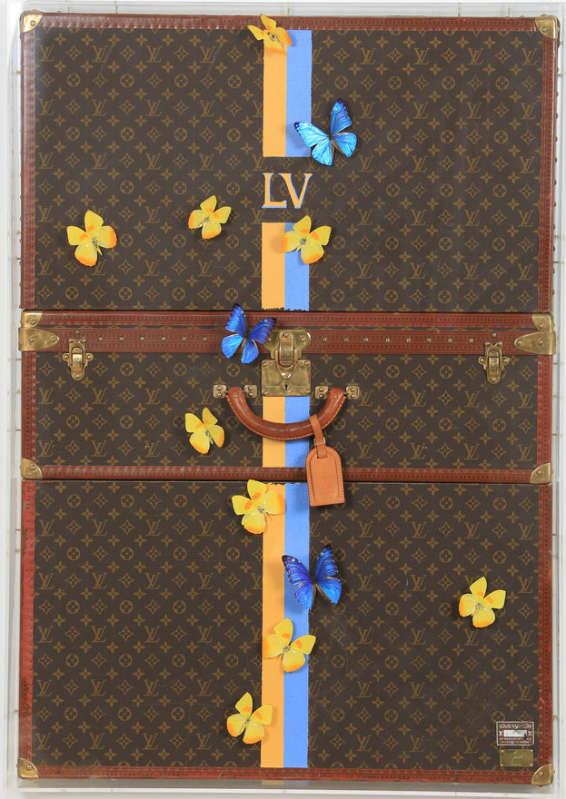 LOUIS VUITTON (Jaune & Bleu)