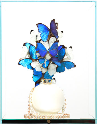 CHANEL PERLE BLUE & WHITE, 2020