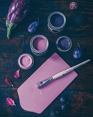 Farrow & ball, illusionist Concep store, Saint Etienne, Couleur, pot echantillon, vente peinture, pigment, naturel, pinceau