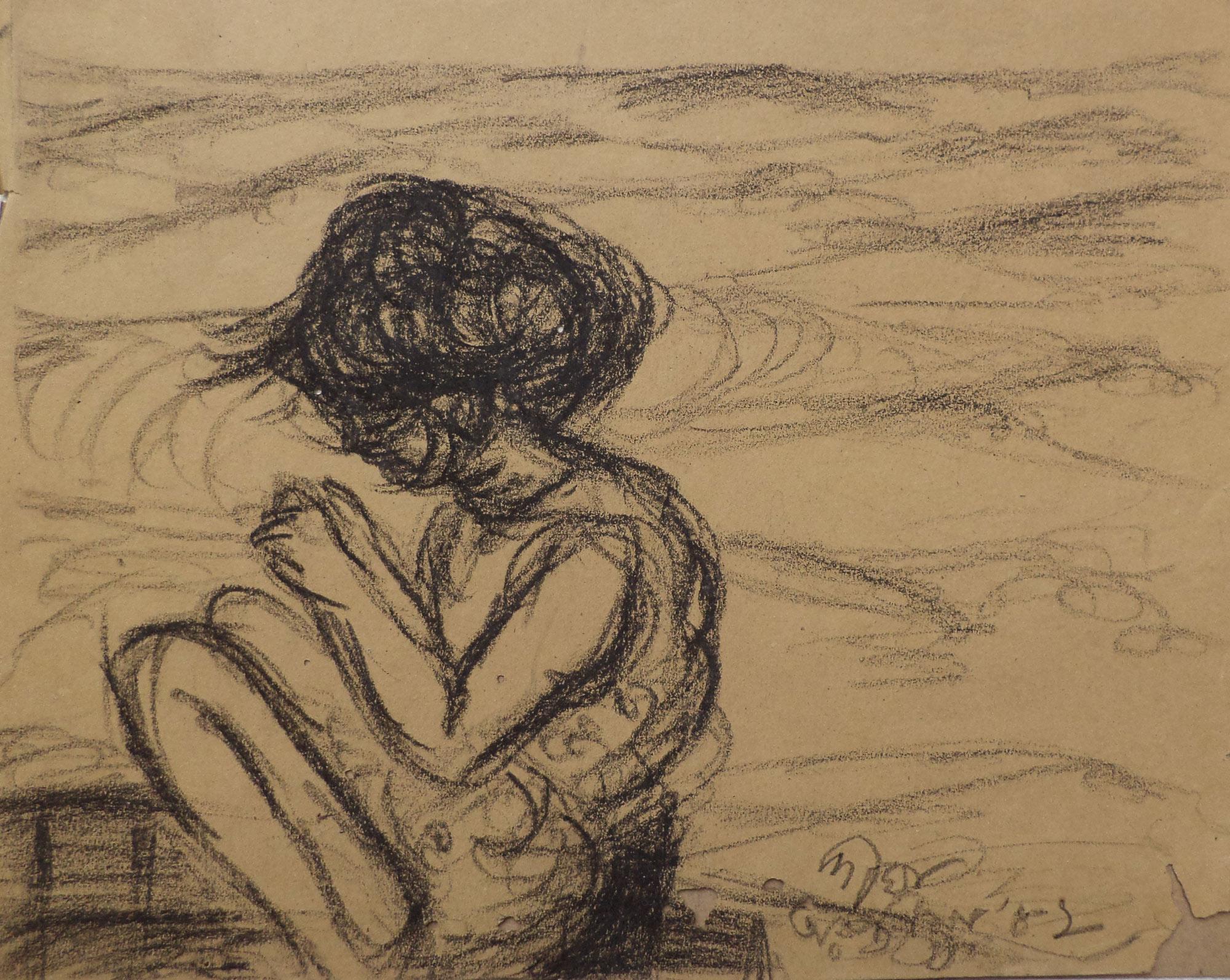 pastel, 1982