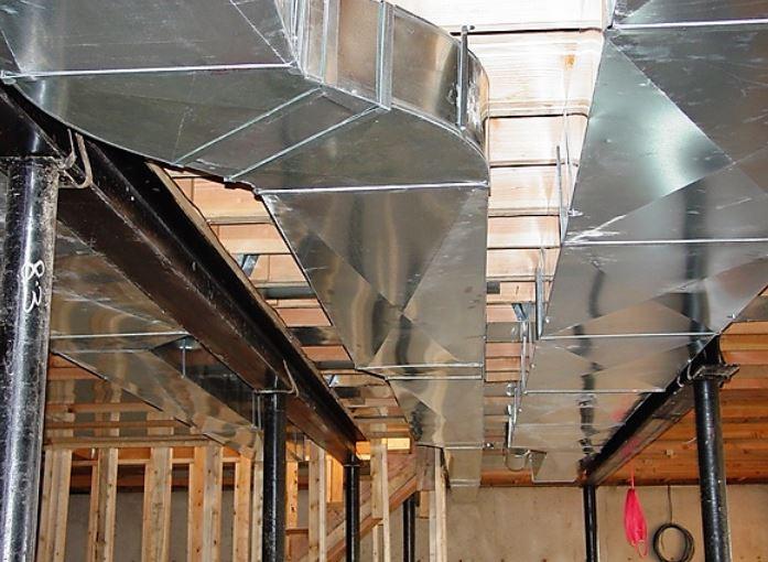 Installation ventillation complète