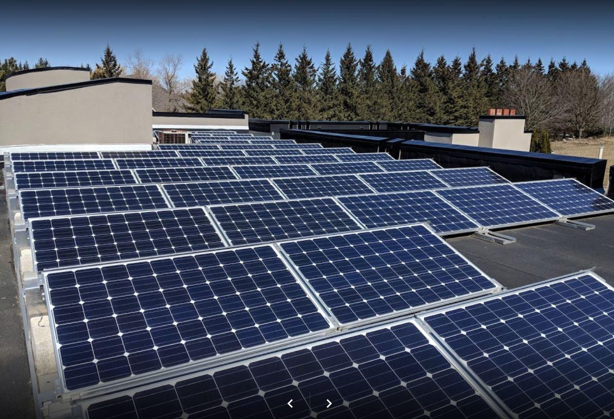 Système de panneaux solaires