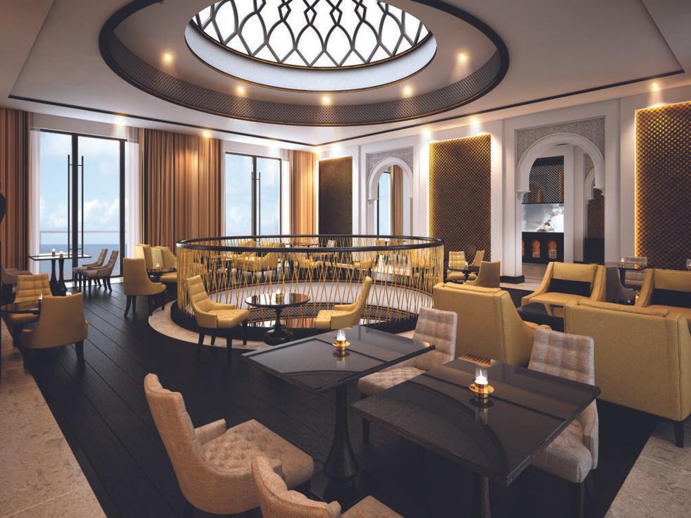 Gold Lounge -  Upper Level