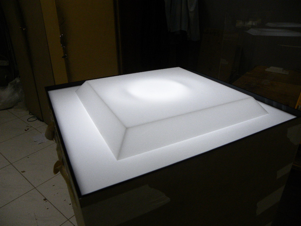 Acrylic combo cold backlit