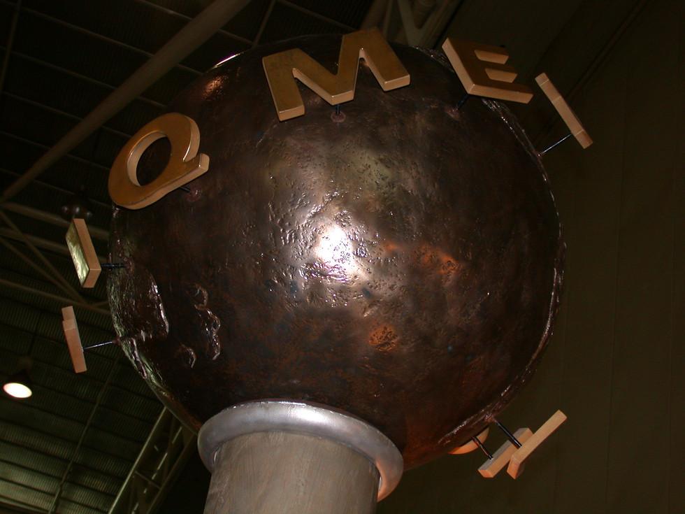 Metal rotating