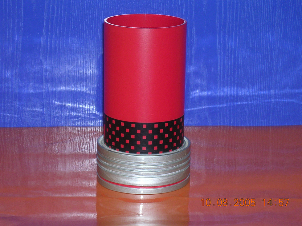 Acrylic candle