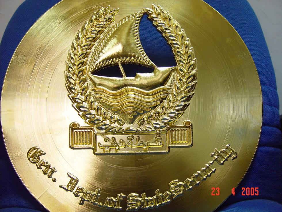 Medal plaque