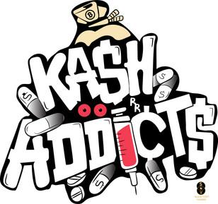 Ka$h Addicts merchandise design