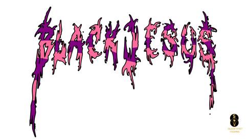 Blvck Jesus two tone logo 6