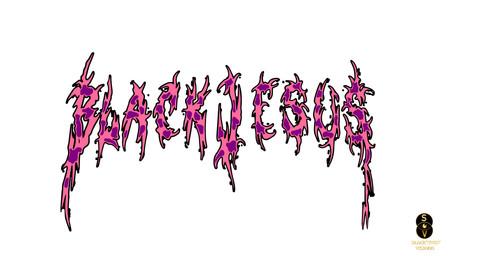 Blvck Jesus two tone logo 3