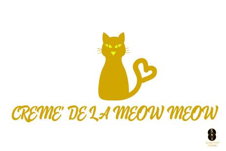 Creme De La Meow Meow shirt design