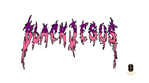 Blvck Jesus two tone logo 5