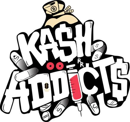 Ka$h Addicts shirt design
