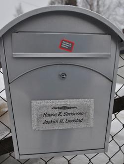 Postkasseskilt