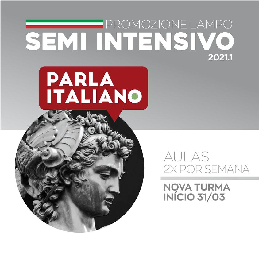 SEMI-INTENSIVO DE ITALIANO 2021.1 | NOVA TURMA 1º E 2º NÍVEL
