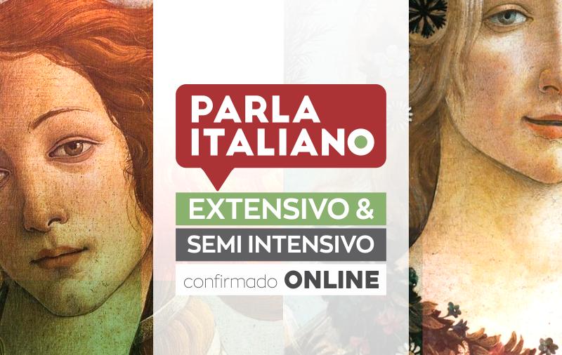 CURSO EXTENSIVO E SEMI-INTENSIVO DE ITALIANO ONLINE