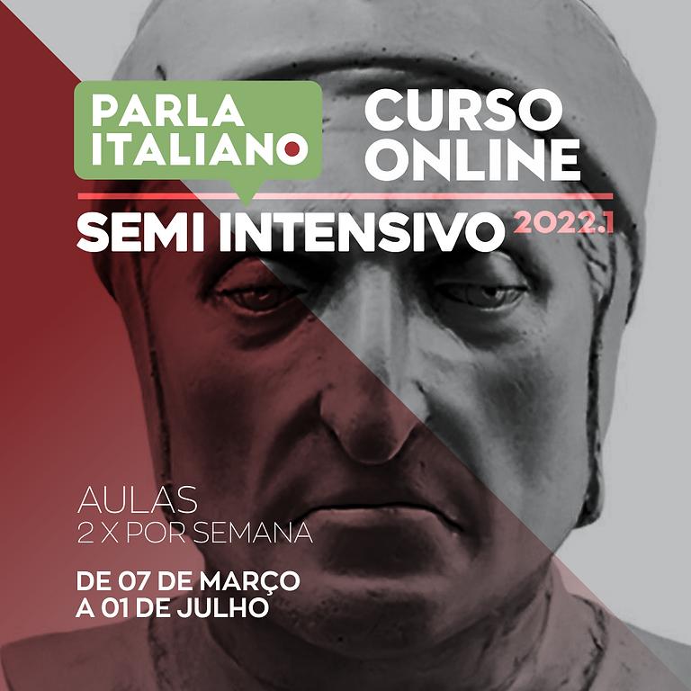 CURSO DE ITALIANO SEMI INTENSIVO | ONLINE
