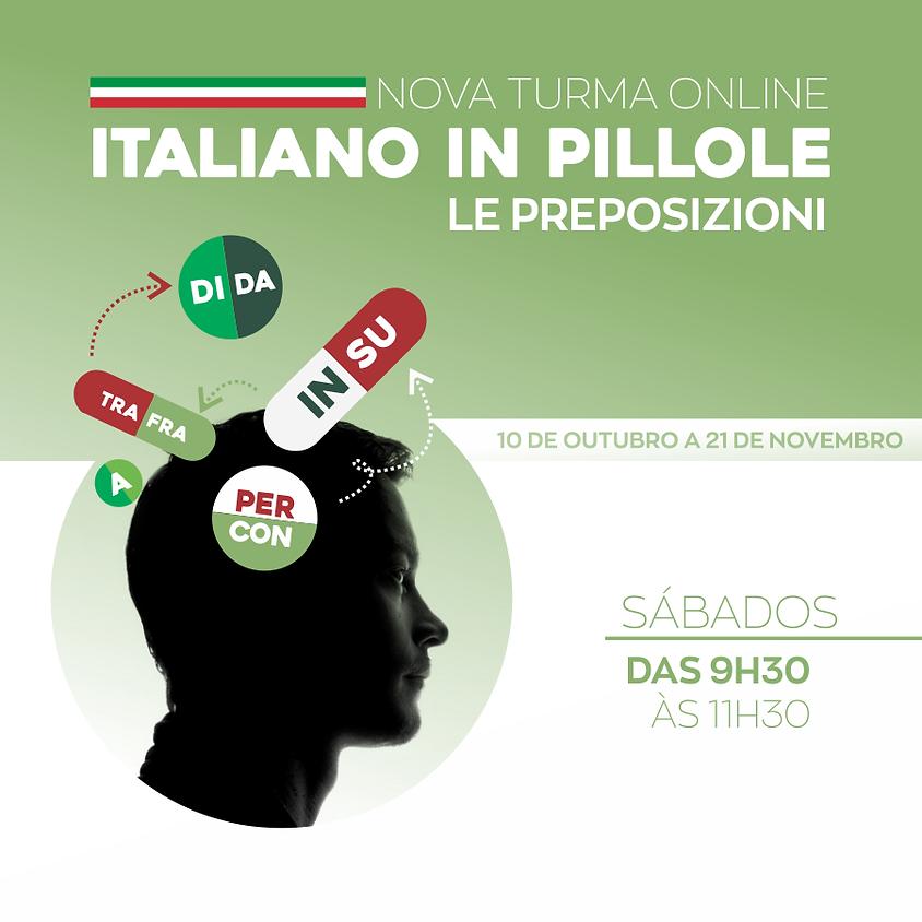 ITALIANO IN PILLOLE | Le preposizioni