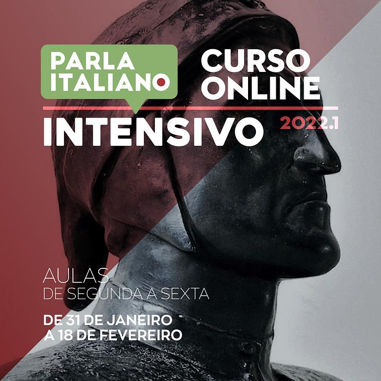 CURSO DE ITALIANO INTENSIVO | ONLINE