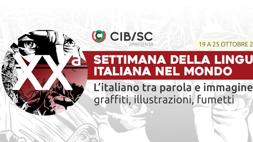 CIB APRESENTA | XXª Settimana della lingua italiana nel mondo