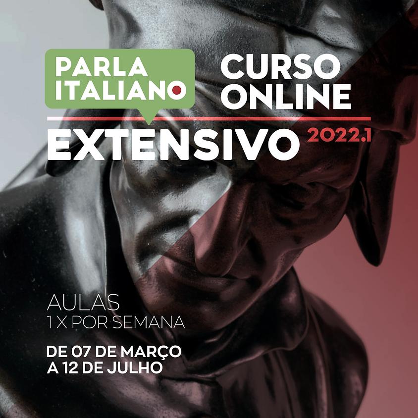 CURSO DE ITALIANO EXTENSIVO | ONLINE