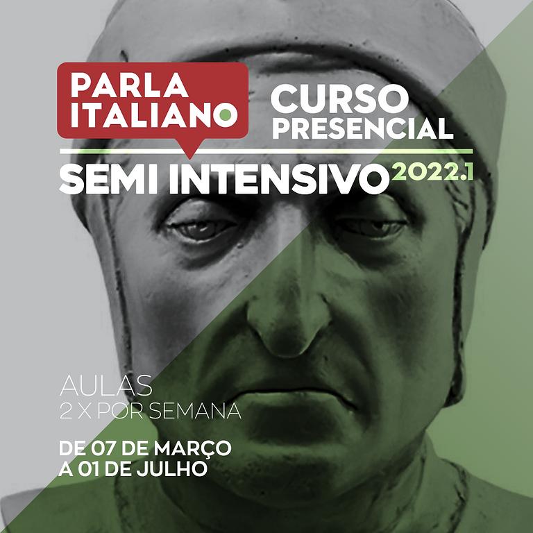 CURSO DE ITALIANO SEMI INTENSIVO | PRESENCIAL