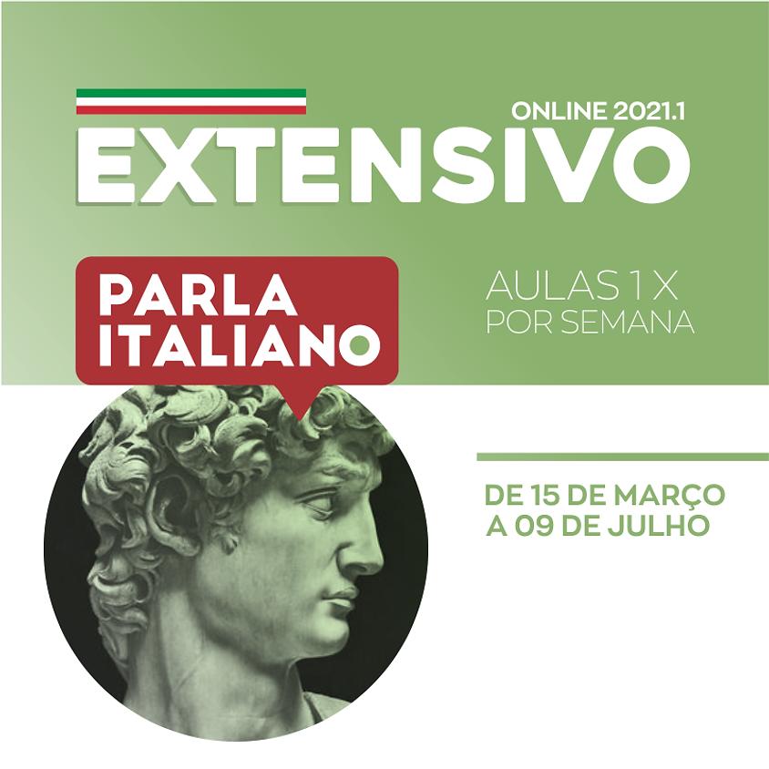 EXTENSIVO DE ITALIANO 2021.1