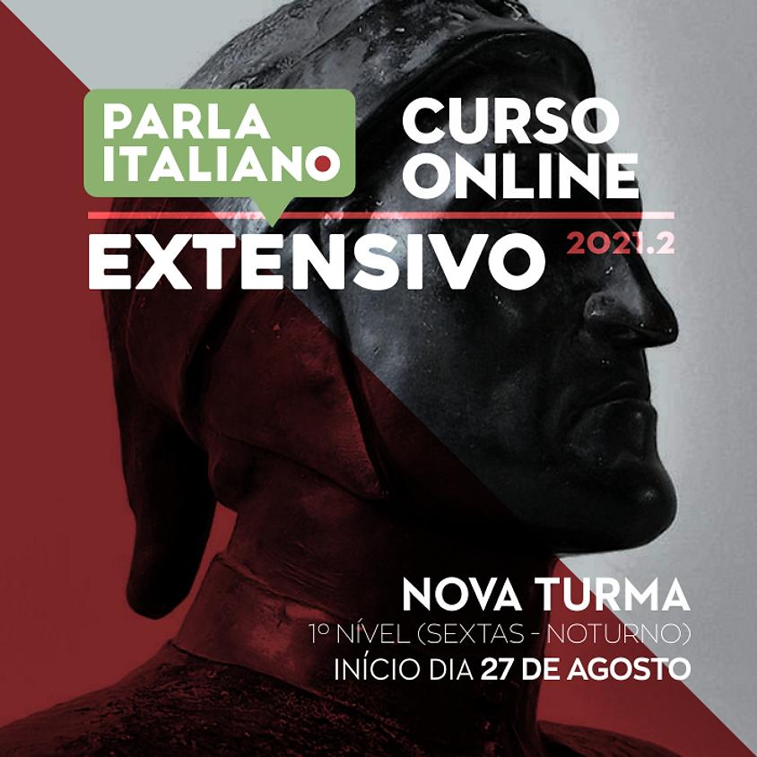 CURSO DE ITALIANO ONLINE | EXTENSIVO | NOVA TURMA