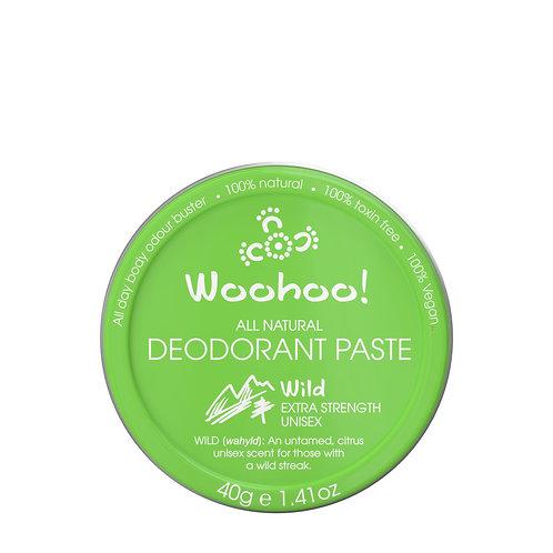 Wild Deodorant Paste (40g)
