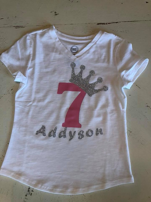 Birthday Princess Child T-shirt