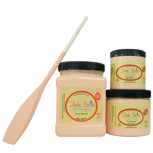 Dixie Bell Chalk Mineral Paint - Apricot