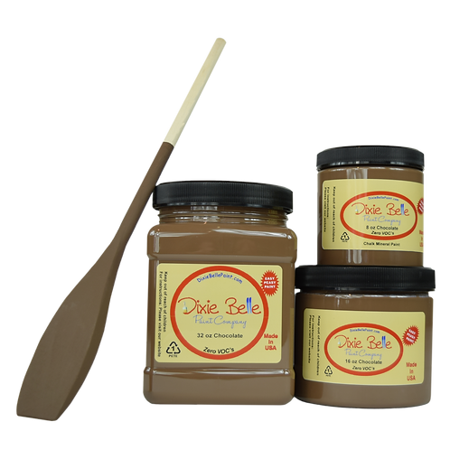 Dixie Bell Chalk Mineral Paint - Chocolate