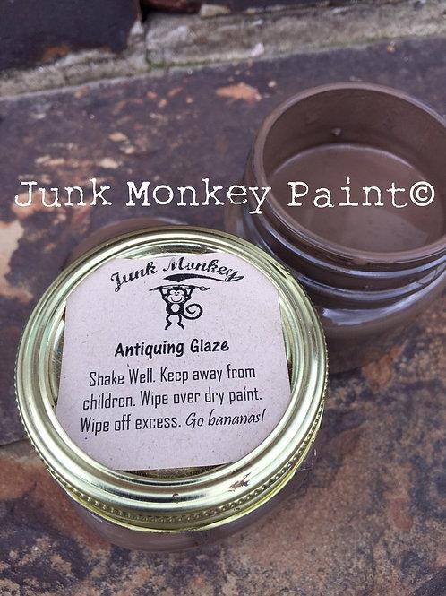 Junk Monkey Antiquing Glaze - Brown