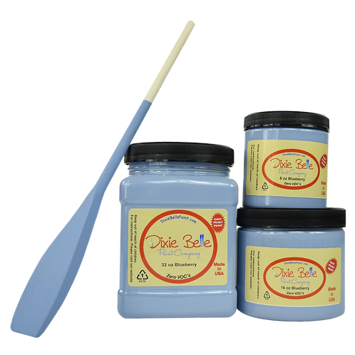 Dixie Bell Chalk Mineral Paint -Blueberry