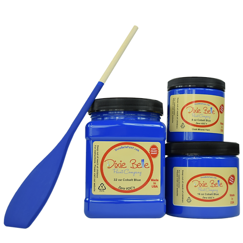 Dixie Bell Chalk Mineral Paint - Cobalt Blue