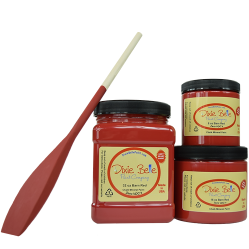 Dixie Bell Chalk Mineral Paint - Barn Red