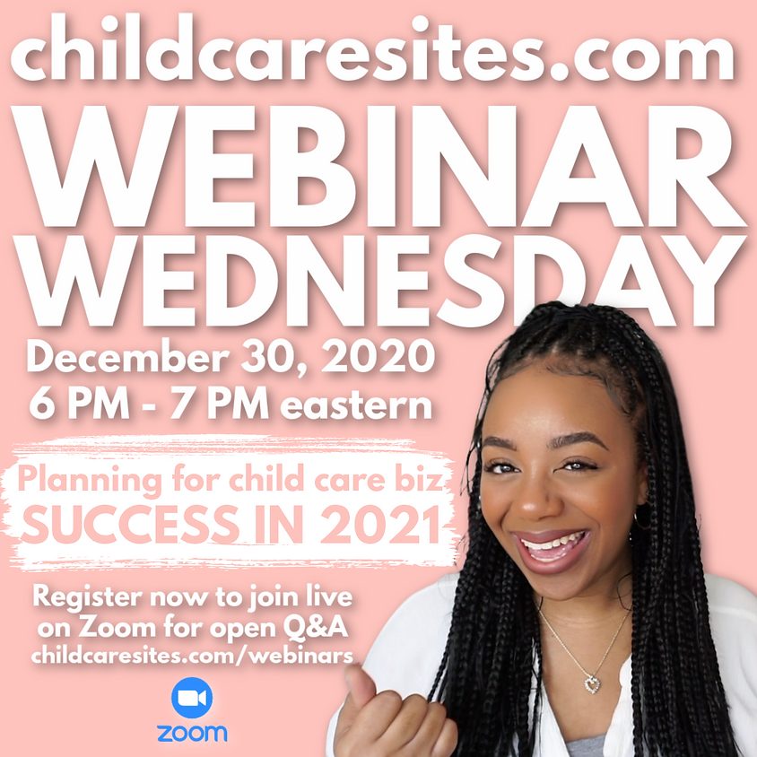 Planning For Child Care Biz Success In 2021