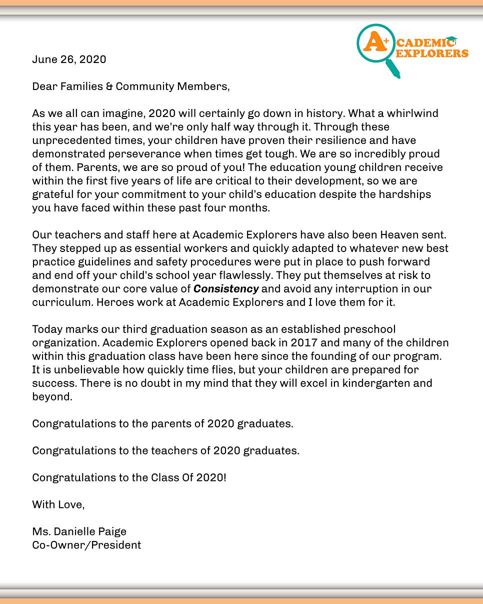 2020 Pre-K Graduation Program Danielle.p
