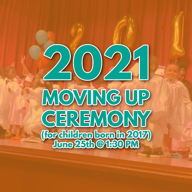 Moving Up Ceremony