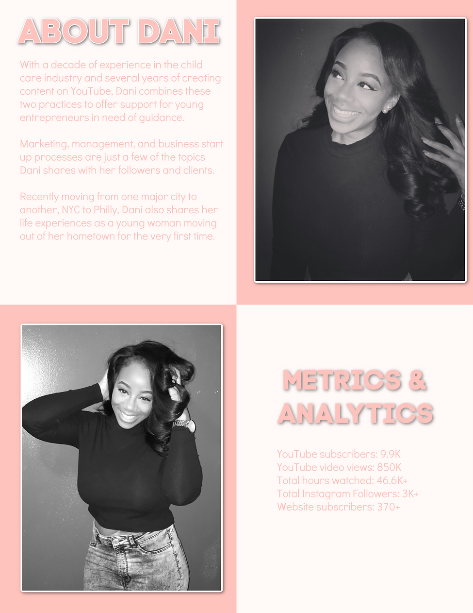 Dani Christine Media Kit About Page.png