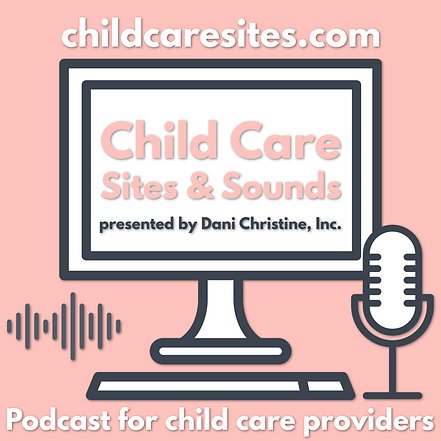 Child Care Sites & Sounds logo, day care, child care, preschool, administration, family day care, home daycare, child care boss